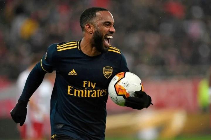 Arsenal defeated Olympiacos at the Stadio Georgios Karaiskakis last season thanks to a goal from Alexandre Lacazette