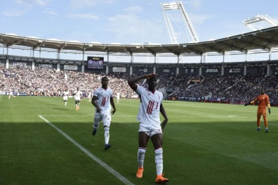 LOSC Lille fans spotted Yves Bissouma with the potential of Paul Pogba