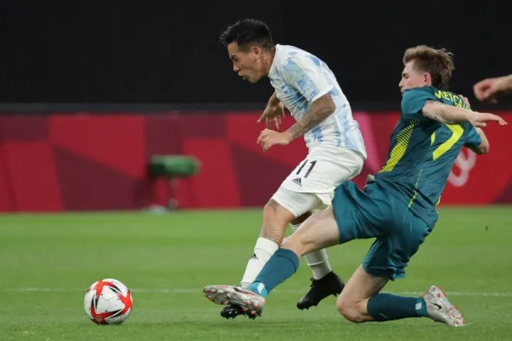 FOOTBALL-OLY-2020-2021-TOKYO-ARG-AUS