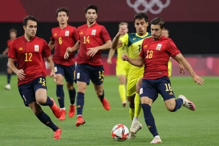 FOOTBALL-OLY-2020-2021-TOKYO-AUS-ESP
