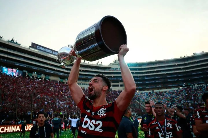 Pablo Mari won the Copa Libertadores during his time in Brazil with Flamengo
