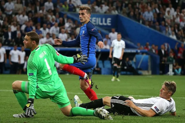 Griezmann proved to be the match winner against Germany in 2016