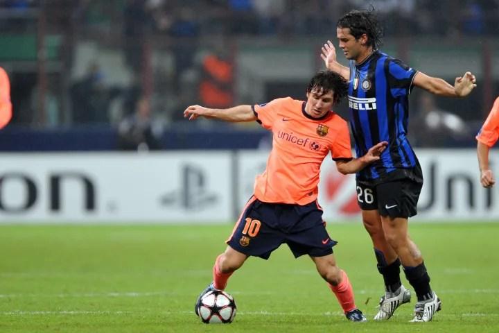 Inter Milan's Romanian defender Cristian