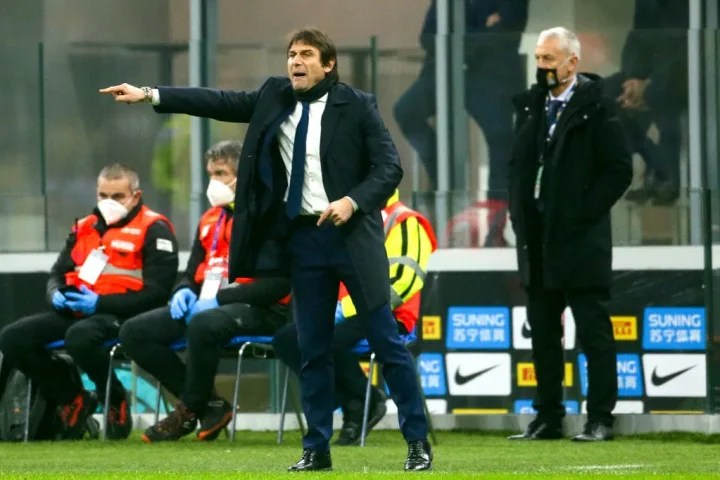 Conte's Inter were eliminated from the Coppa Italia by Juventus during the week