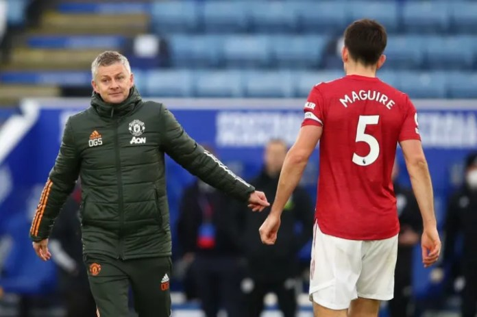 Ole Gunnar Solskjaer, Harry Maguire