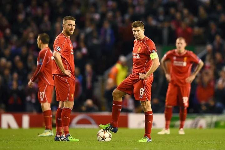 Lambert nunca pareció completamente tranquilo durante su corta estadía en Anfield