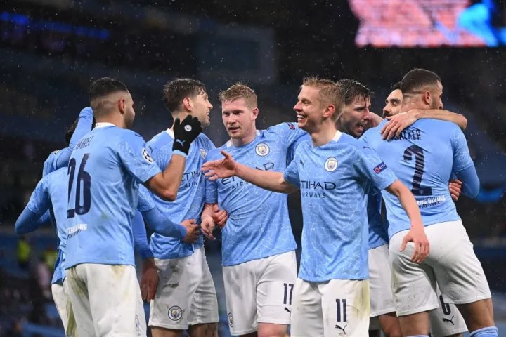 Man City secured a 4-1 aggregate win over PSG in the semi-final