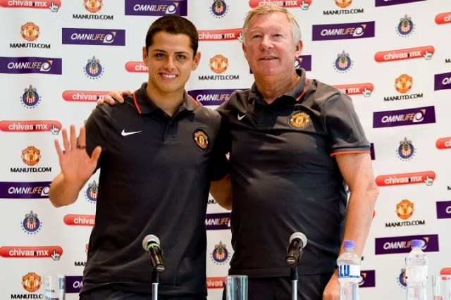 Manchester United Press Conference in Mexico