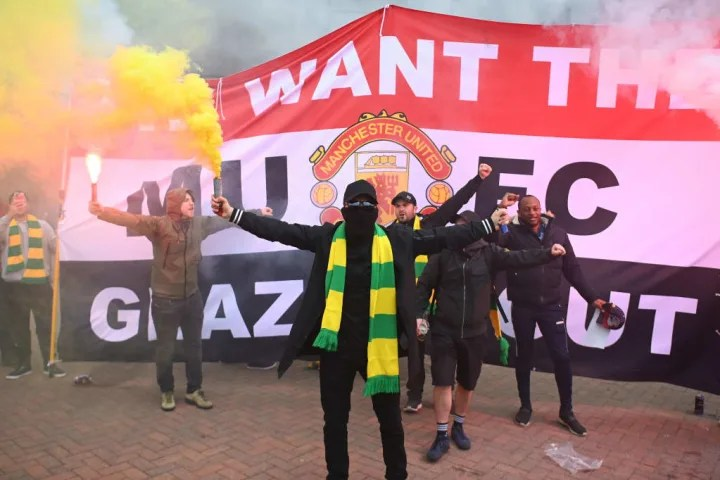 Man Utd fans have been protesting against Glazer ownership since 2005