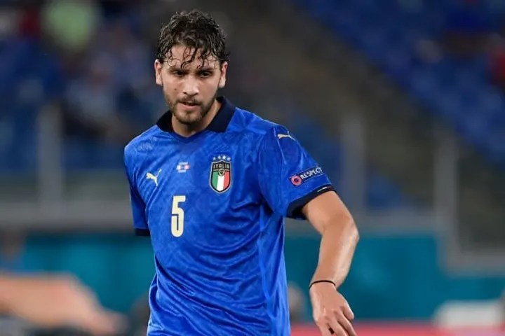 Manuel Locatelli of Italy in action during the Uefa Euro ...
