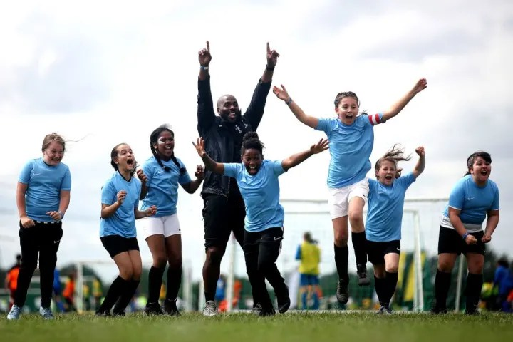 As things stand, girls have less opportunity to play football than boys