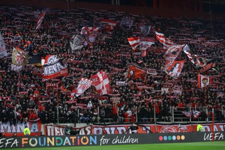 Olympiacos FC v Arsenal FC - UEFA Europa League Round of 32: First Leg