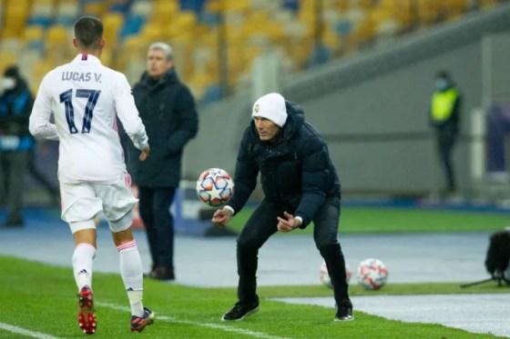 Zinedine Zidane Lucas Vazquez