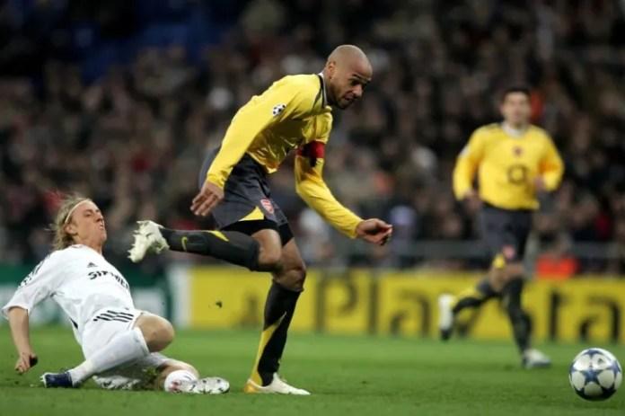 Thierry Henry, Jose Maria Guti
