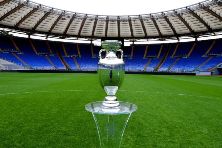 UEFA Euro 2020 Trophy Tour in Rome