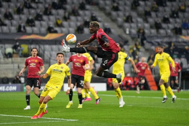 Paul Pogba brings the ball under his spell