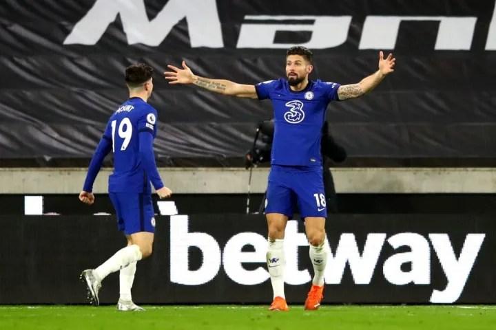 El Chelsea debería conseguir la victoria, y el ex jugador del Arsenal Olivier Giroud probablemente jugará un papel