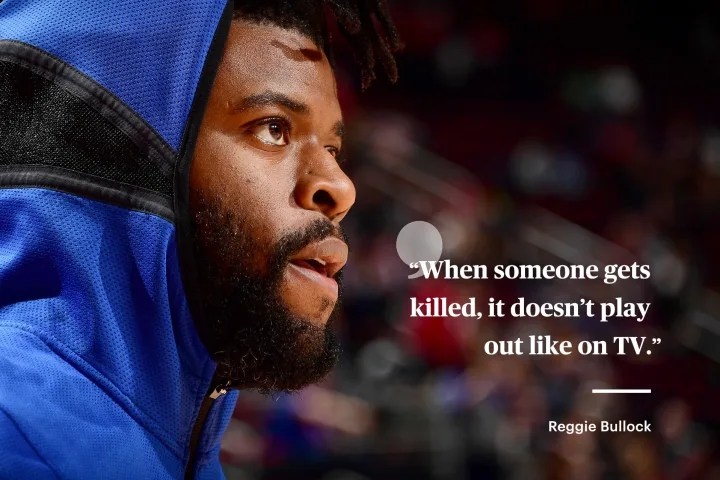 Reggie Bullock   New York Knicks   The Players' Tribune