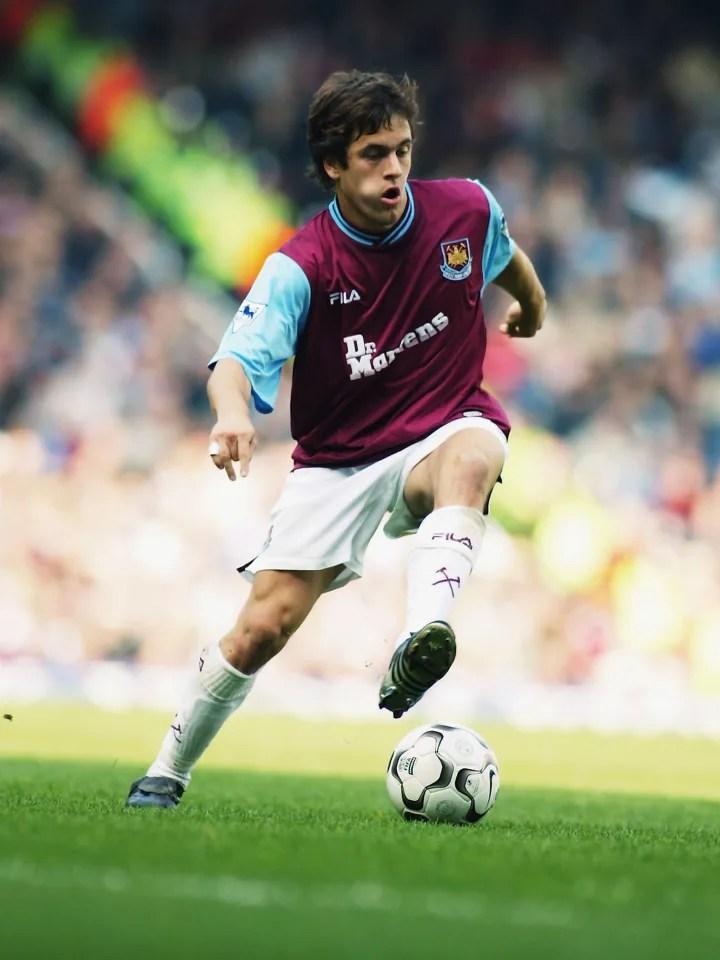 Joe Cole of West Ham United
