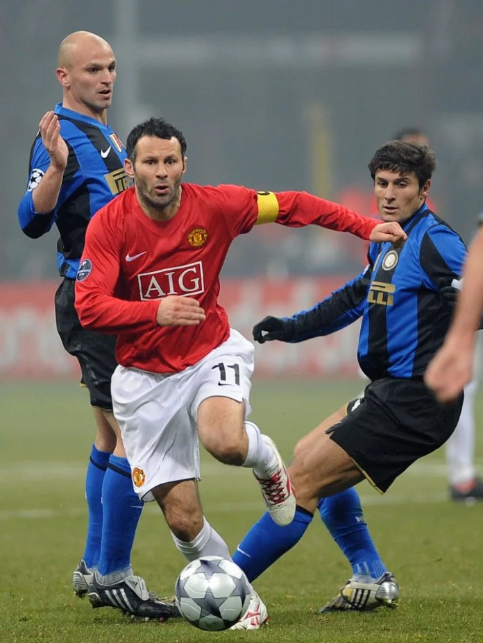 Mesfushori Uellsian i Manchester United, Rya