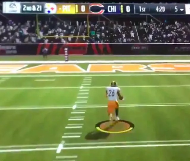 Video Leveon Bell Can Literally Teleport Thanks To This Hilarious Madden 19 Glitch