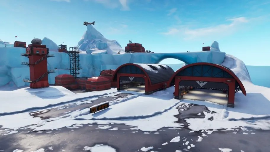 New Fortnite Map Epic Games Adds Frosty Flights In