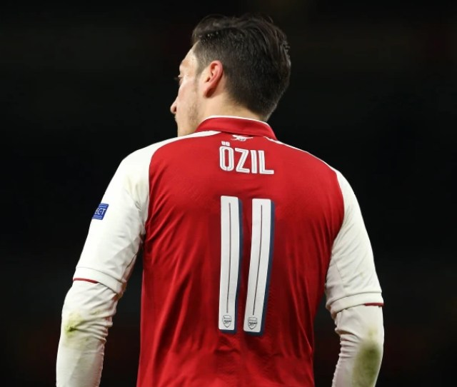 Arsenal Reveal New Shirt Number For Mesut Ozil After Favoured Jersey Becomes Available