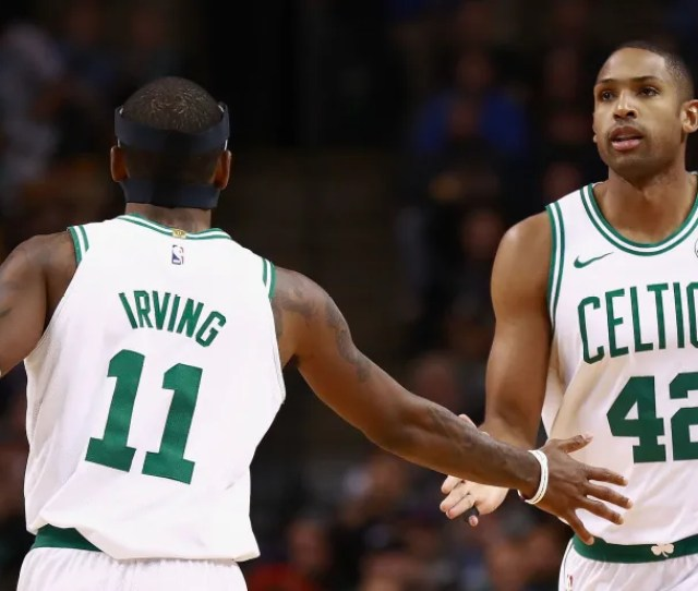 Kyrie Irving Seems To Have Forgotten Al Horford Is On The Celtics