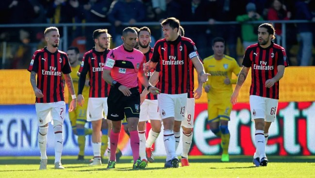 Image result for frosinone vs milan photos