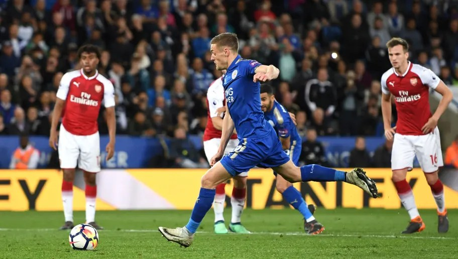 Image result for leicester city vs arsenal