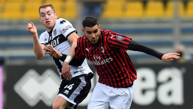 Image result for photos of parma vs milan