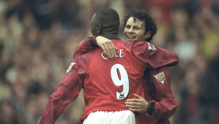 Ryan Giggs and Andy Cole