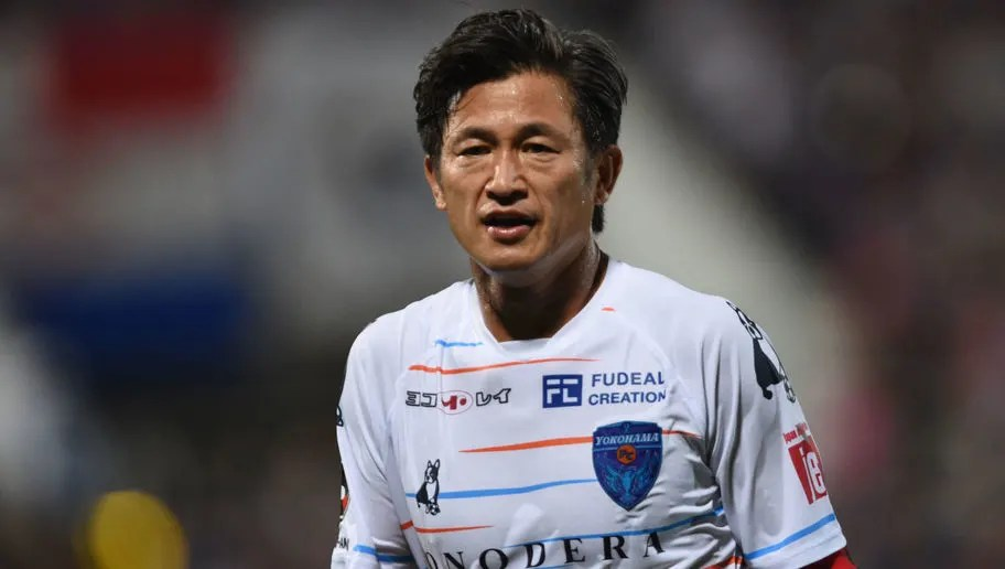 World's Oldest Professional Footballer Kazuyoshi Miura Extends His Contract  With Yokohama FC | 90min
