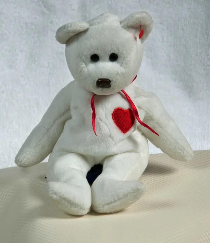 Valentino the bear Beanie Baby