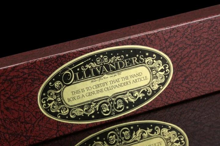 A wand box