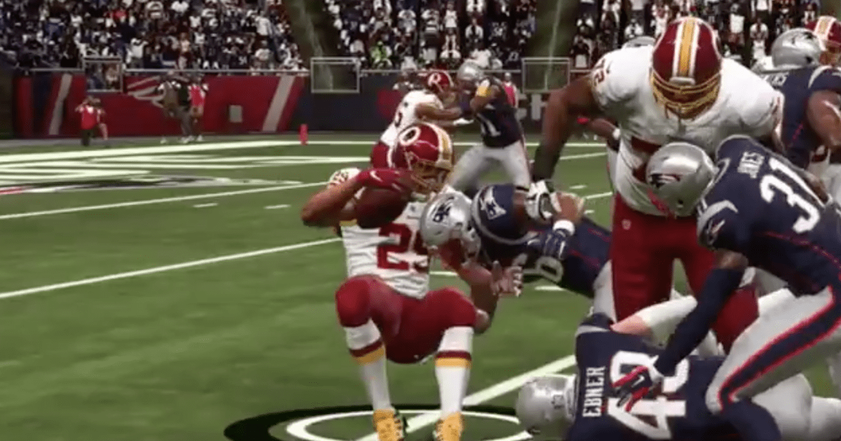 VIDEO Horrifying Madden Glitch Causes Derrius Guice To