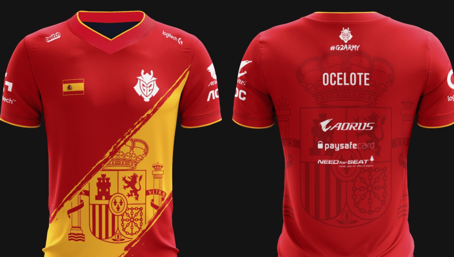 G2 Esports Releases New Spain Themed Jersey Ahead Of EU