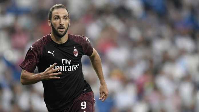 Image result for higuain ac milan