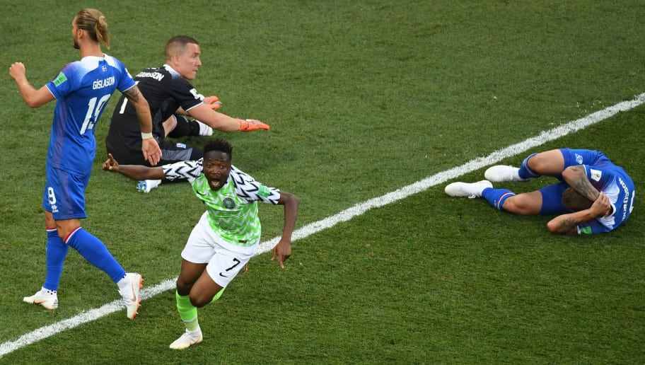 Nigeria 2-0 Iceland: Player Ratings as Ahmed Musa Dismantles Nordics to Keep Group D Alive fbl wc 2018 match24 ngr isl fans 5b2d21a2f7b09d3144000003