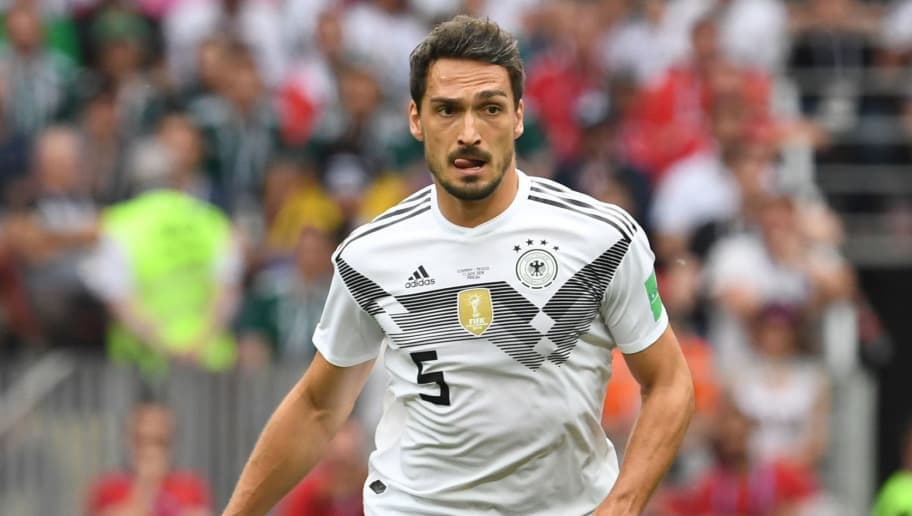 Mats Hummels Ruled Out of Germany's Crucial Sweden Encounter With ...