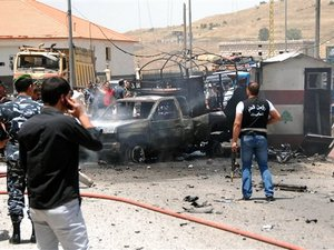 lebanese suicide attack
