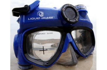 Liquid Image Scuba 5mp HD Camera Mask, Blue . Liquid Image ...