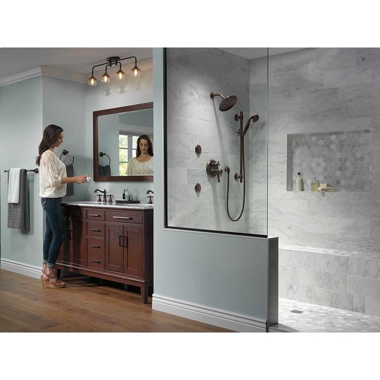 delta 3597lf rbmpu lhp cassidy two handle widespread bathroom faucet less handles venetian bronze