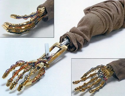 Anakin Skywalker's Original Mechno-arm