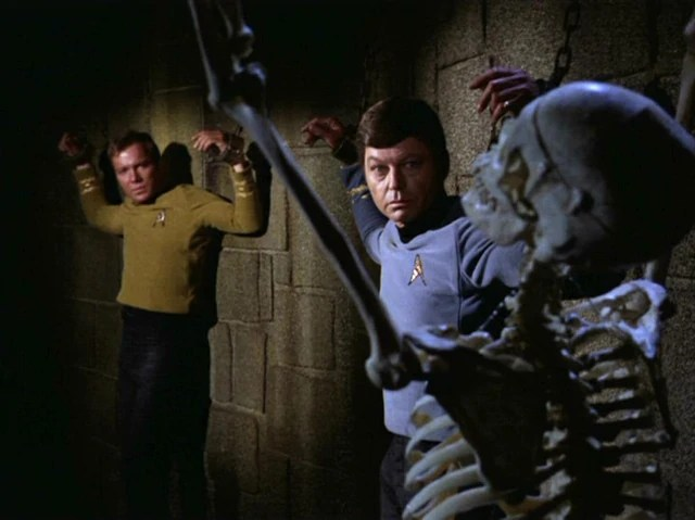 File:Kirk, McCoy and bones.jpg