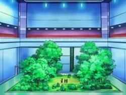 Campo de batalla del Gimnasio de Vetusta en el anime