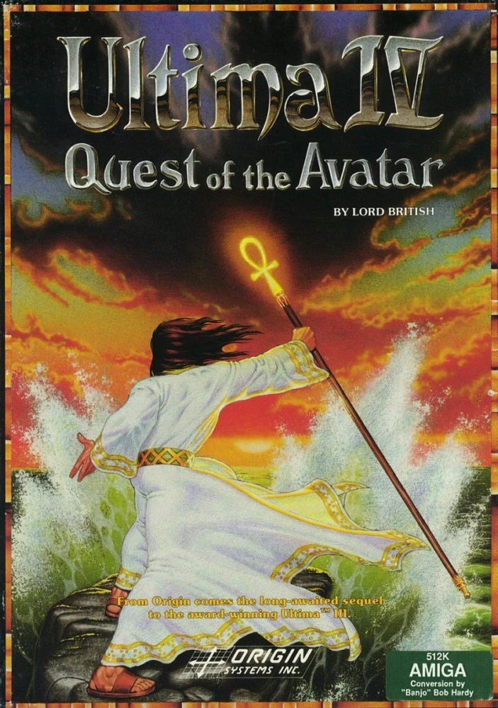 Ultima IV Cover