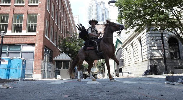 Rick in Atlanta on the Horse