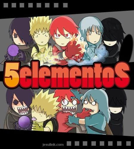 Resultado de imagen de 5 elementos comic