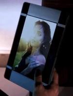 L'immagine di Tali smascherato in cabina di Shepard.